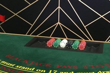 Christmas wedding casino hire