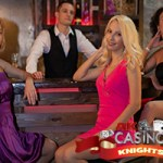 corporate party casino hire ladies at bar