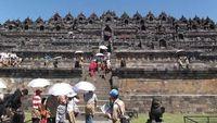 Ilustrasi Candi Borobudur (Imam Moerdani/dTraveler)