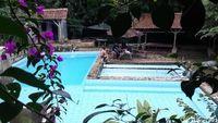 Kolam renang di Kampung Cijasirna, Kabupaten Bandung (Wisma/detikTravel)