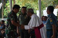 Momen Peresmian Gereja Katolik Bunda Maria Fatima di Mabes TNI Cilangkap