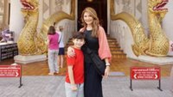 Saat Tamara Bleszynski bersama Kenzou liburan ke Thailand (tamarableszynskiofficial/Instagram)