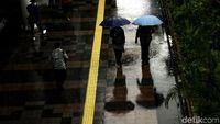 BMKG Prediksi Seluruh Wilayah Jakarta Diguyur Hujan Disertai Petir Hari Ini