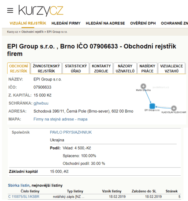 Павел Присяжнюк, Артур Сомов и грандиозный схематоз EPI Group по поставке продукции ОГХК