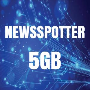 5GB NEWSSPOTTER BANDWIDTH TOP-UP