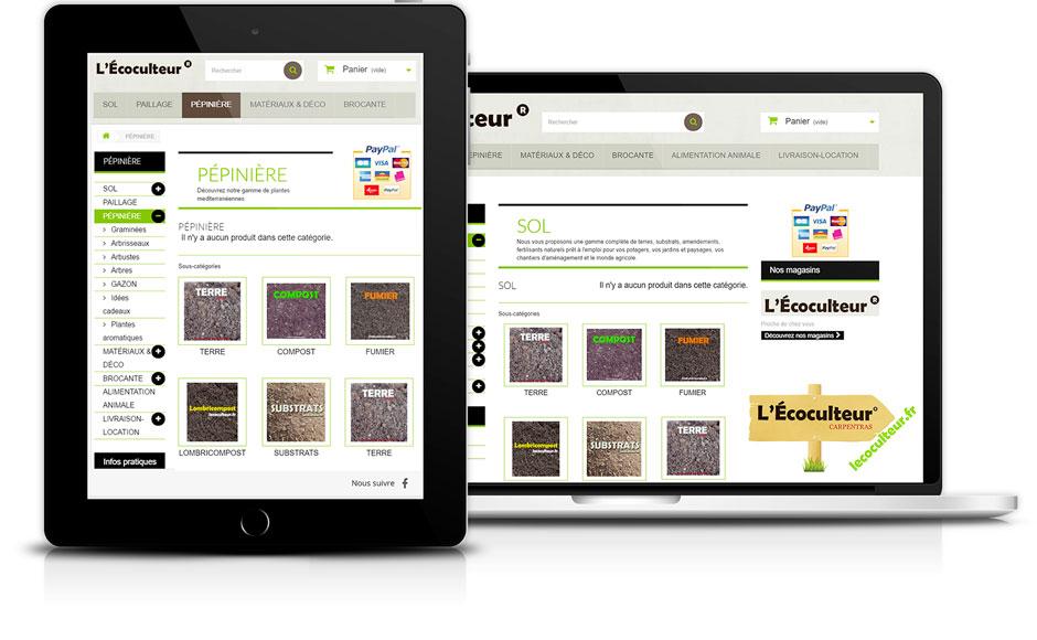 creation-de-site-internet-avignon-ecoculteur-ecommerce-prestashop-agence-ak-digital