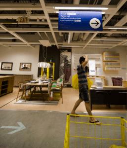IKEA-navigation