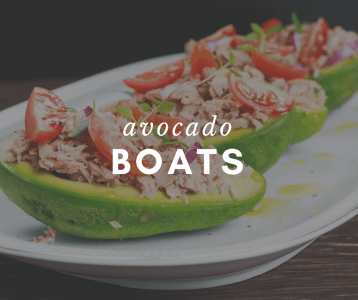avocado boats make meal planning easy