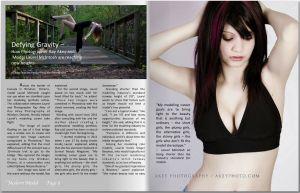Laurel Mcintosh - Modern Model Magazine January 2014