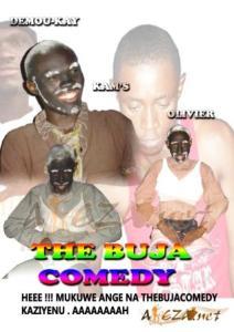 Une affiche de THE THE BUJA COMEDY (www.akeza.net)