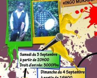 Affiche des concerts de Peace and Love (www.akeza.net)
