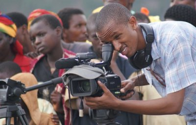 Eddy Munyaneza en action