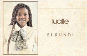 Lucille Kristushemezwa,candidate burundaise à Miss Afrique Montréal 2012(www.akeza.net)