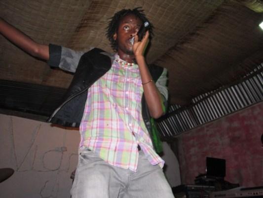 Gabby , l'un des participants aux auditions (www.akeza.net)