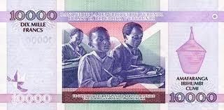 Billet de 10.000FBu (www.akeza.net)