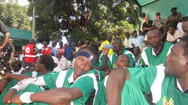 La sélection burundaise avant le match (www.akeza.net)