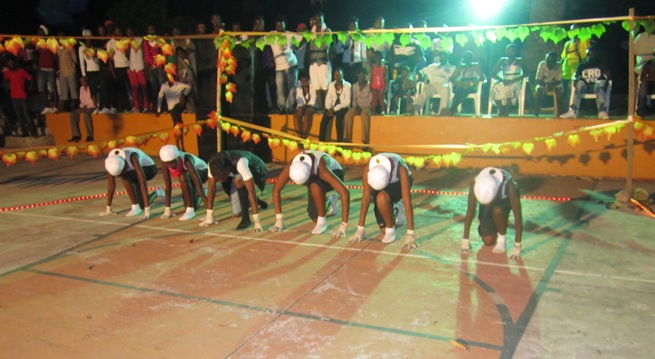 L'une des écoles en compétition à l'oeuvre (www.akeza.net)