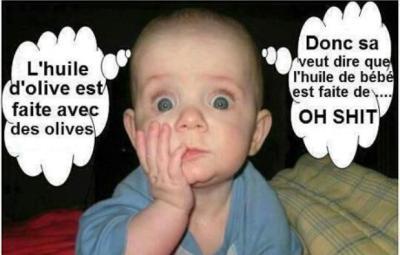 Donc l'huile de bébé est...(www.akeza.net)