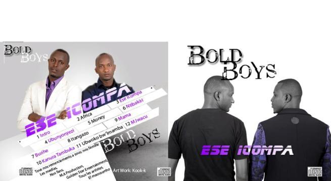 Une partie de la pochette du premier album Ese Icompa de Bold Boys (www.akeza.net)