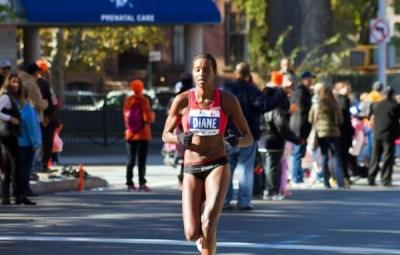 Diane Nukuri Johnson , athlète burundaise (www.akeza.net)