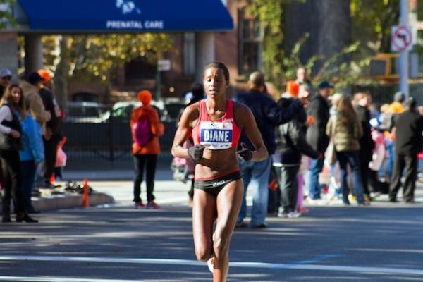Diane Nukuri Johnson , athlète professionnel burundais (www.akeza.net)