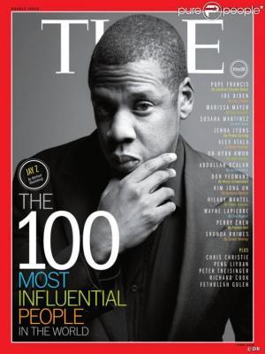 Jay Z sur l'une des couvertures du Time 100 (www.akeza.net)
