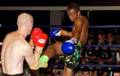 Le boxeur Arthemon en plein combat (www.akeza.net)