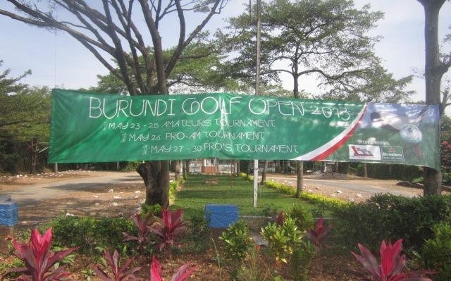 Golf : La clôture du Burundi open 2013  (www.akeza.net)