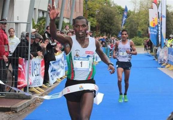 Jean Claude NIYONIZIGIYE à l'arrivée (www.akeza.net)