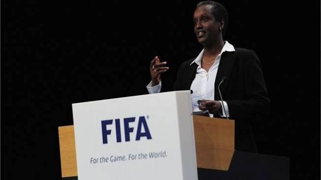 Lydia NSEKERA, première femme élue au comité exécutif de la FIFA  (www.akeza.net)