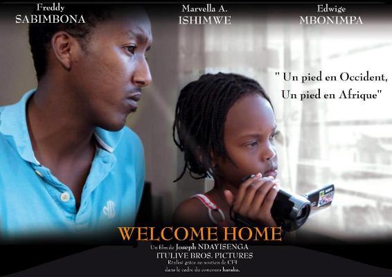 Affiche du film ''Welcome Home'' de Joseph NDAYISENGA (www.akeza.net)