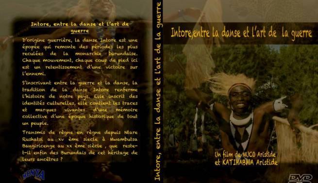 Pochette du DVD du film ''Intore , entre la danse et l'art de la guerre'' (www.akeza.net)