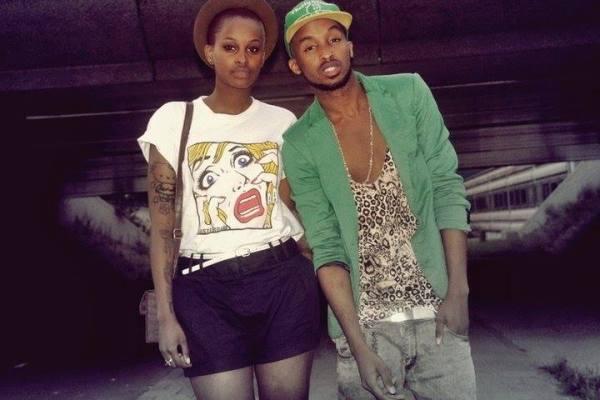 Arnold et sa soeur , le mannequin Nella Ngingo (www.akeza.net)