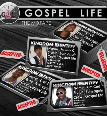 Facette de la pochette de la mixtape de Gospel Life (www.akeza.net)