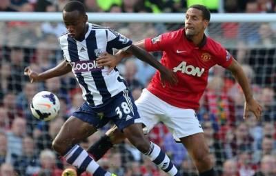 Saido BERAHINO face à face avec Rio Ferdinand (www.akeza.net)