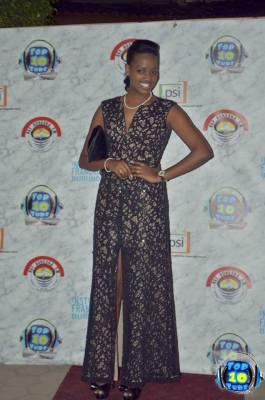 La styliste Cynthia Munwangari à l'arrivée (www.akeza.net)
