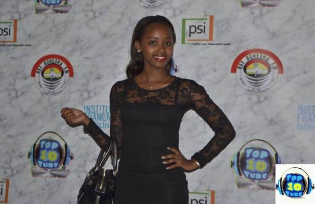 La chanteuse Samantha aux TMA's (www.akeza.net)