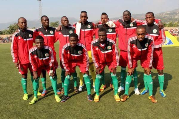 Les joueurs de l' équipe nationale, sous la commande de Nassim Lotfi (www.akeza.net)