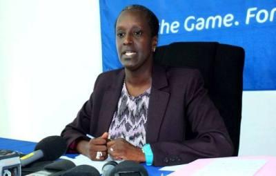 Lydia NSEKERA quand elle annonçait le numéro bancaire (www.akeza.net)
