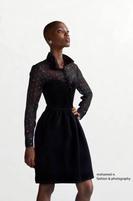 Ici Nicole , un des mannequins les plus couru à Bujumbura (www.akeza.net)