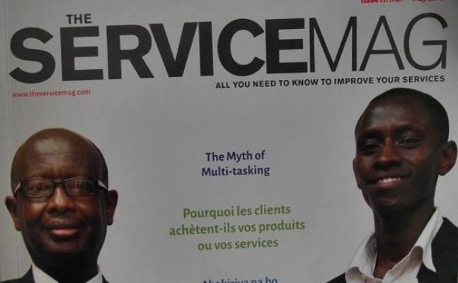 The serviceMag, un nouveau magazine partenaire des entrepreneurs (www.akeza.net)