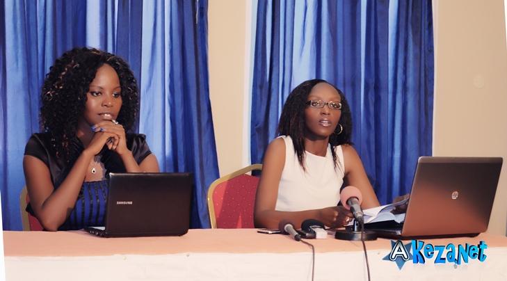 De gauche à droite Natacha Nduwimana et Nadege Kabagenzi toutes du JELIM Premier Events.(www.akeza.net)