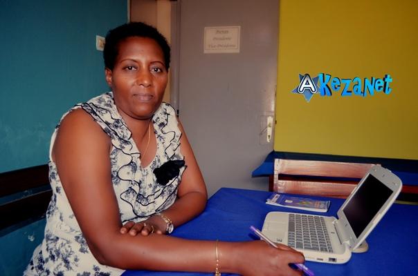 Mme Immaculée NSENGIYUMVA, secrétaire-générale de l'AFAB (www.akeza.net)