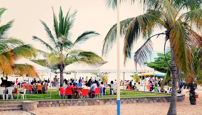 Karera Beach : le 1er espace de loisir sans alcool connait un franc succès (www.akeza.net)
