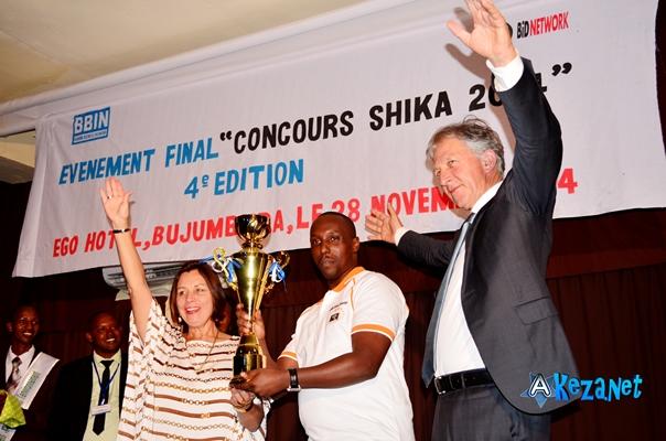 Aimé NDIZEYE remporte la 4ème édition du concours SHIKA ©Akeza.net