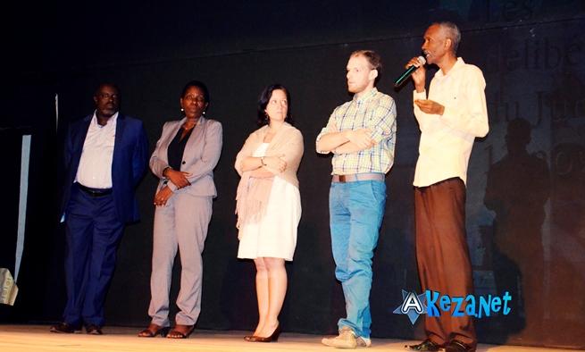 Les membres du Jury Prix Michel Kayoya (www.akeza.net)