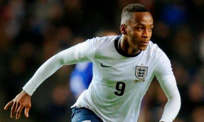 Saido Berahino portant les couleurs de l'équipe nationale Anglaise junior.©The guardian