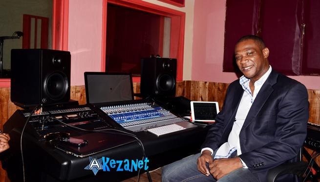 Bachir Dia au Madiba Studio ©Akeza.net