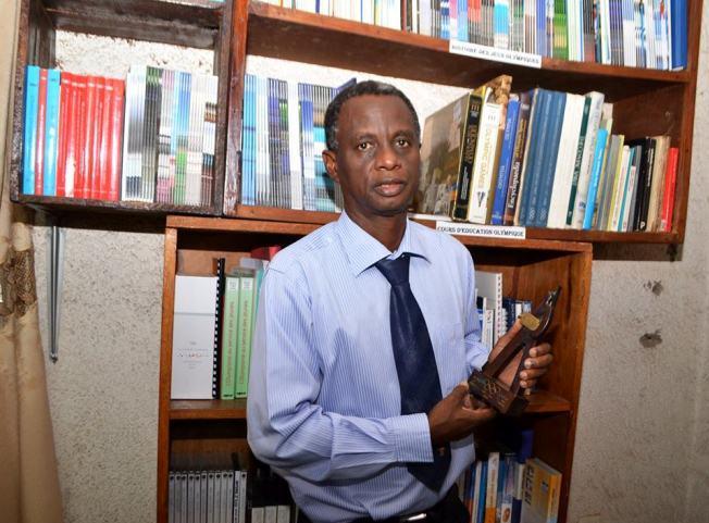 Tharcisse Harerimana , élu au comité mondial  des journalistes olympique(www.akeza.net)
