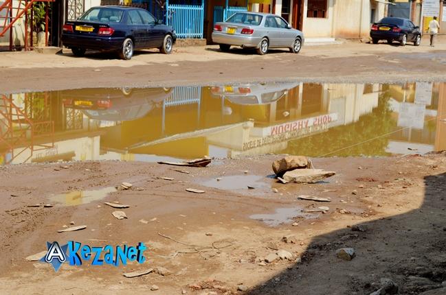 Avenue de l' amitié  actuellement.©Akeza.net